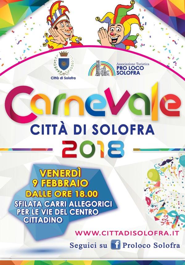 Carnveale 2018, Solofra